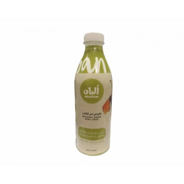 Goat Laban Low Fat 1L - Alban