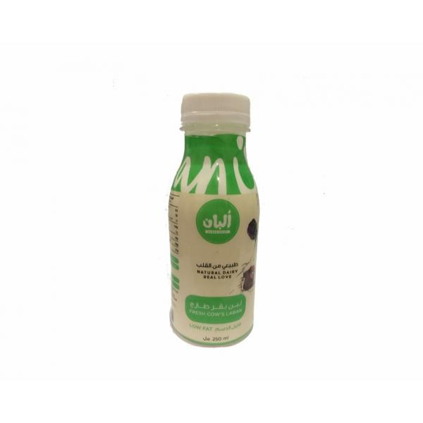 Cow Laban Low Fat 1L - Alban