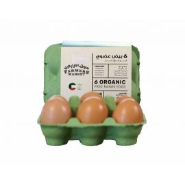 Farmers Market Organic Eggs (6 pcs)