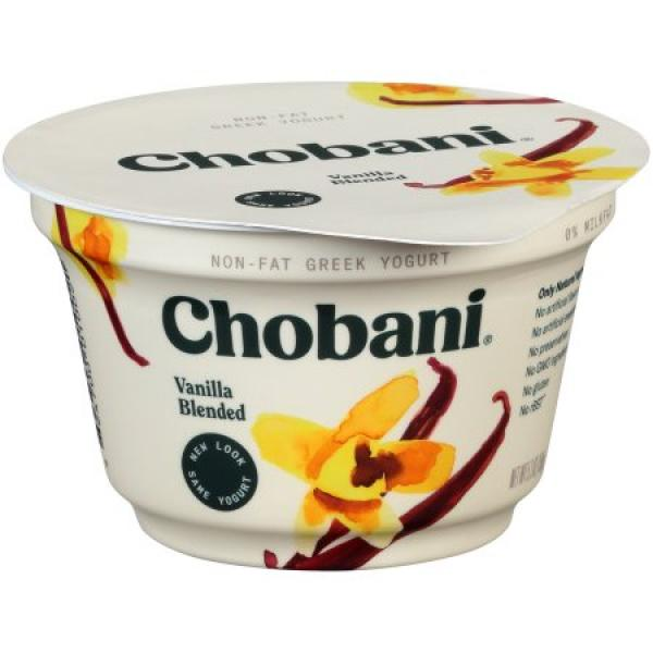 Vanilla Multi Greek Yoghurt 5.3 OZ - Chobani