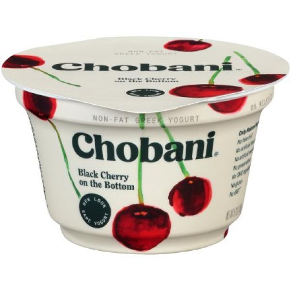 Black Cherry Greek Yoghurt 5.3 OZ - Chobani