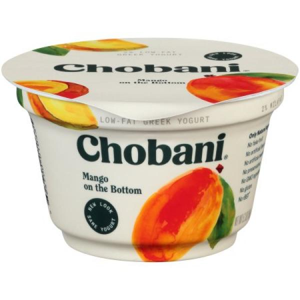 Mango Greek Yoghurt 5.3 OZ - Chobani