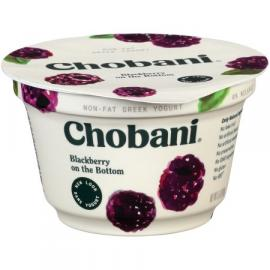 Blackberry Greek Yoghurt 5.3 OZ - Chobani