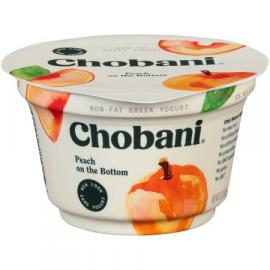 Peach Greek Yoghurt 5.3 OZ - Chobani