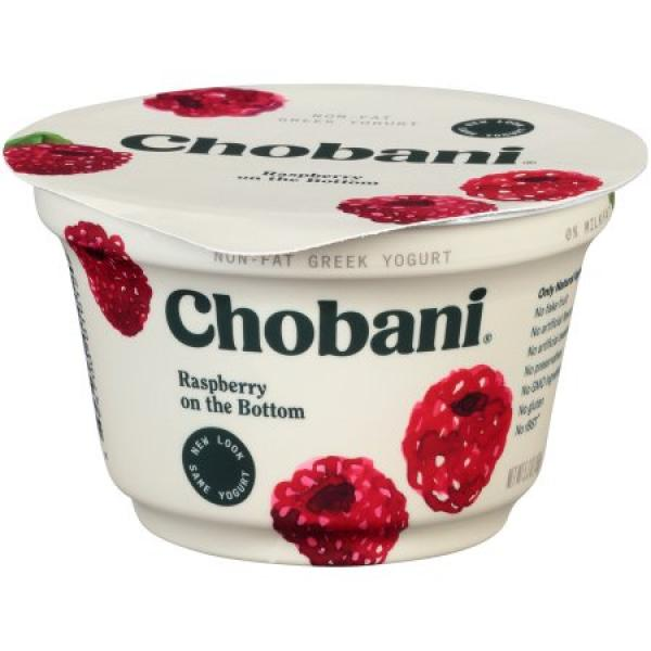 Raspberry Greek Yoghurt 5.3 OZ - Chobani