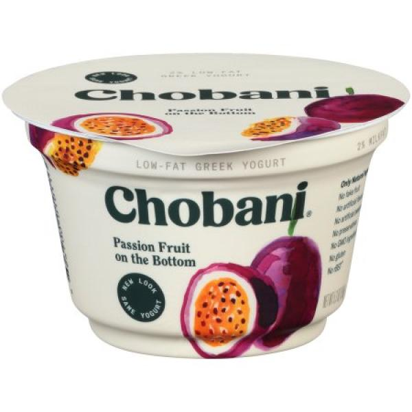 Passion Fruit Greek Yoghurt 5.3 OZ -  Chobani