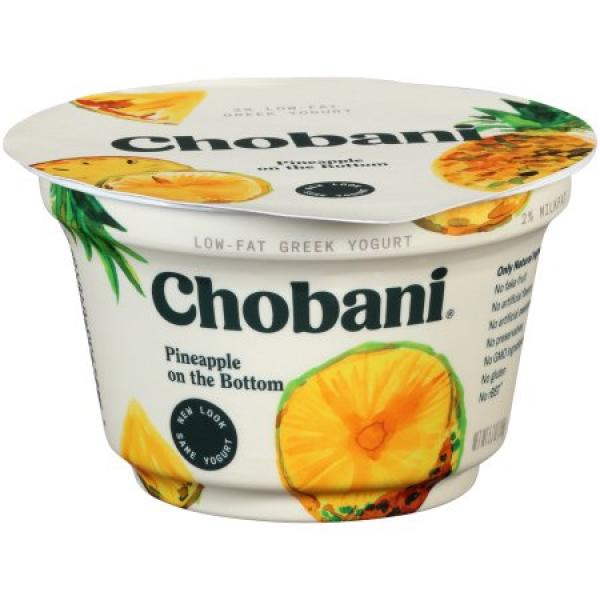 Pineapple Greek Yoghurt 5.3 OZ - Chobani