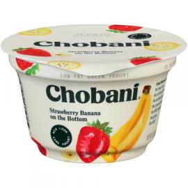 Strawberry Banana Greek Yoghurt 5.3 OZ - Chobani