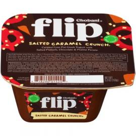 Salted Caramel Crunch Greek Yoghurt Flips 5.3 OZ - Chobani