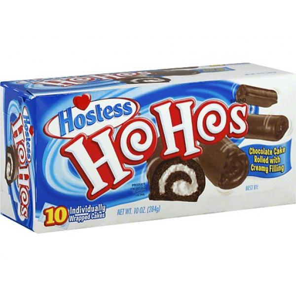 Hostess Ho Hos Chocolate Pack 10 OZ