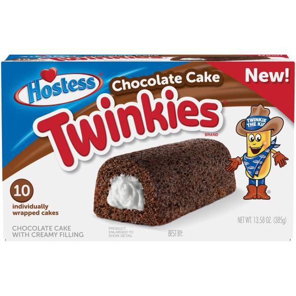 Hostess Twinkies Chocolate Pack 13.58 OZ