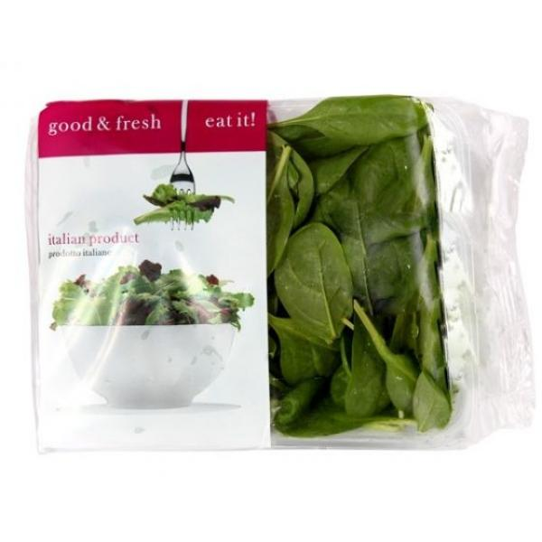 Italian Baby Spinach Pack 125g