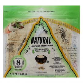 Mountain Bread Natural Wraps Pack 200g