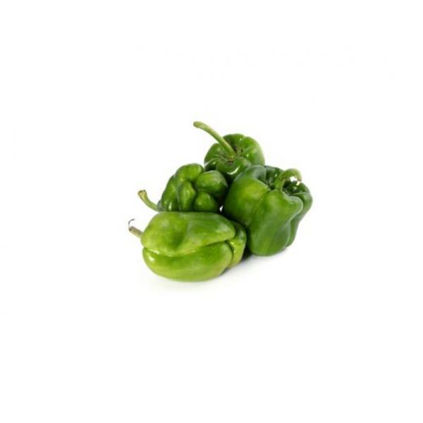 Farmers Market Kuwaiti Green Bell Pepper Bag 1 kg