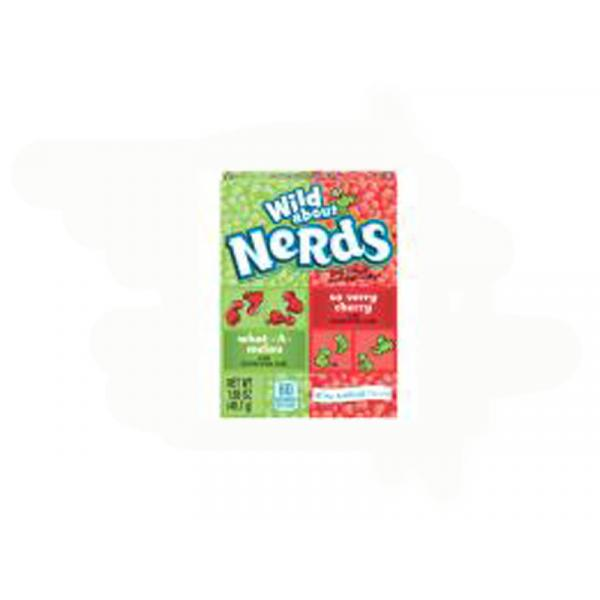 Nestle Nerds Watermelon Cherry Singles Crtn 1.65OZ