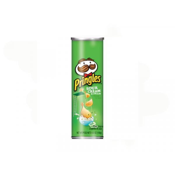 Pringles Sour Cream  \ Onion Box 5.57OZ