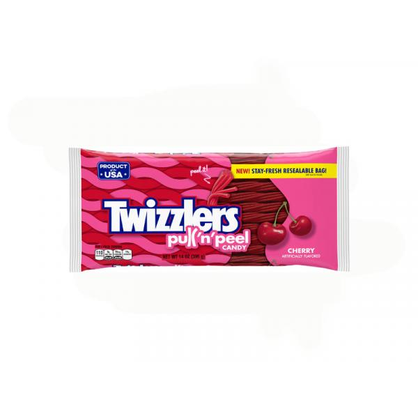 Twizzlers Cherry PullNPeel Bag 14OZ