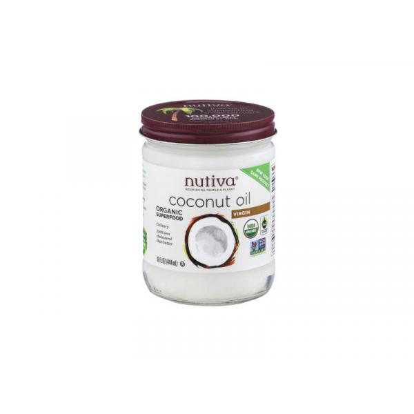 Nutiva Coconut Oil Extra Virgin PlsCnt 14OZ