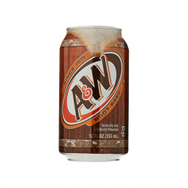 A \ W Root Beer Can 12OZ