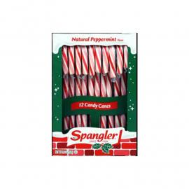 Spangler Candy Canes Peppermint R&W 5.3oz (12ct)