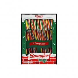 Spangler Candy Canes Cherry 5.3oz (12ct)