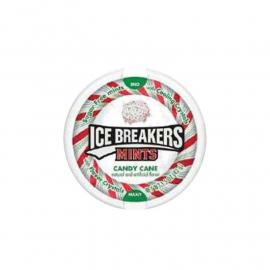 Ice Breakers Candy Cane Flav Mints Disp. Bag1.5oz (24/8ct)