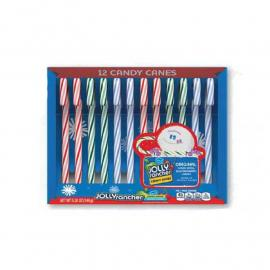 Jolly Rancher Assor. Candy Canes (4 Flav.) Pack5.28oz (12ct)