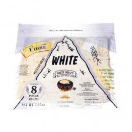 Mountain Bread White Wraps Source of Fibre Pack 200g