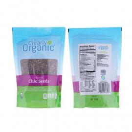 Clearly Organic Chia Seeds Bag 14OZ