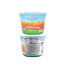 Clearly Organic Mac \ Cheese Cup 2.75OZ