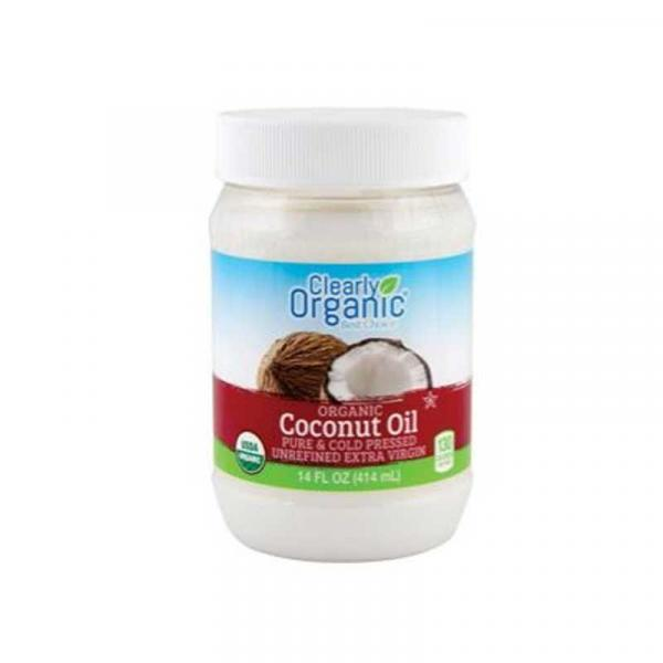Clearly Organic Coconut Oil PlsCn t14OZ