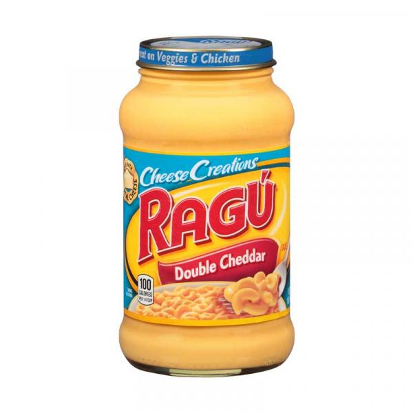 Ragu Cheese Creation Double Cheddar GlsCon 16OZ