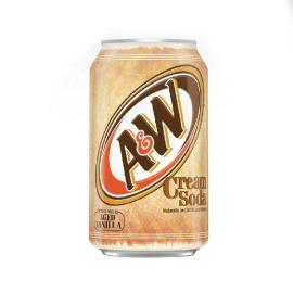A  \ W Cream Soda Can 12OZ