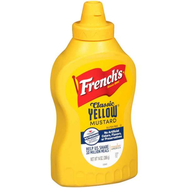 Frenchs Mustard Squeeze PlsCnt 14OZ