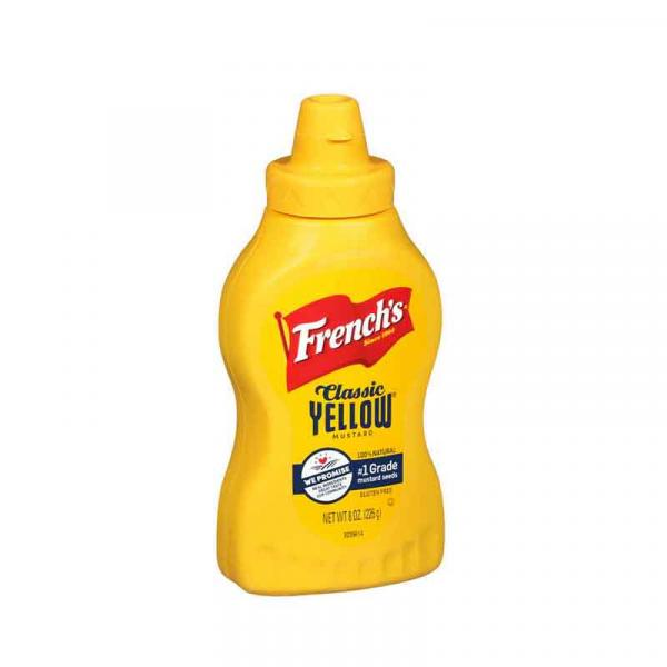 Frenchs Mustard Squeeze PlsCnt 8OZ