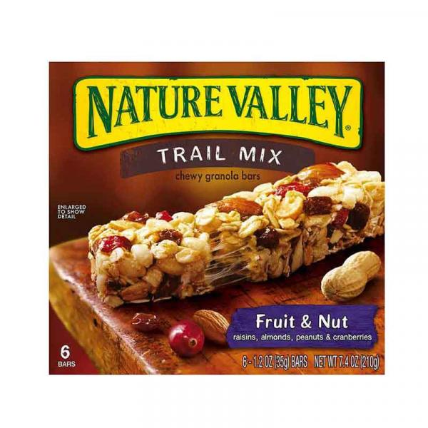 Nature Valley GB Trail Mix Fruit \ Nut *6 Crtn 7.4OZ