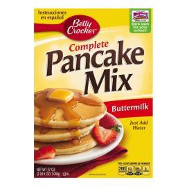 Betty Crocker Complete Pancake Mix Buttermilk Crtn 37OZ