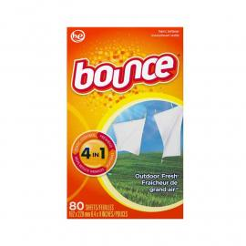 Bounce Dryer Sheets Outdoor Fresh Box 80CT