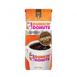 Dunkin Donuts Coffee Original Blend Med Bag 12OZ