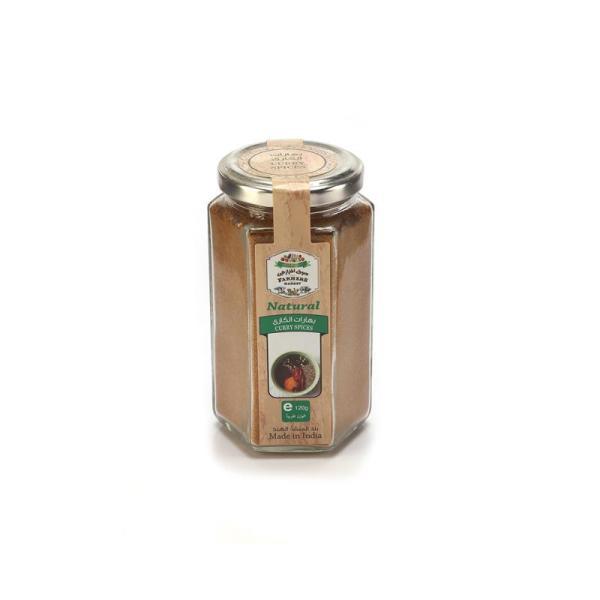 Farmers Market Curry Spices Glass Jar 120 g
