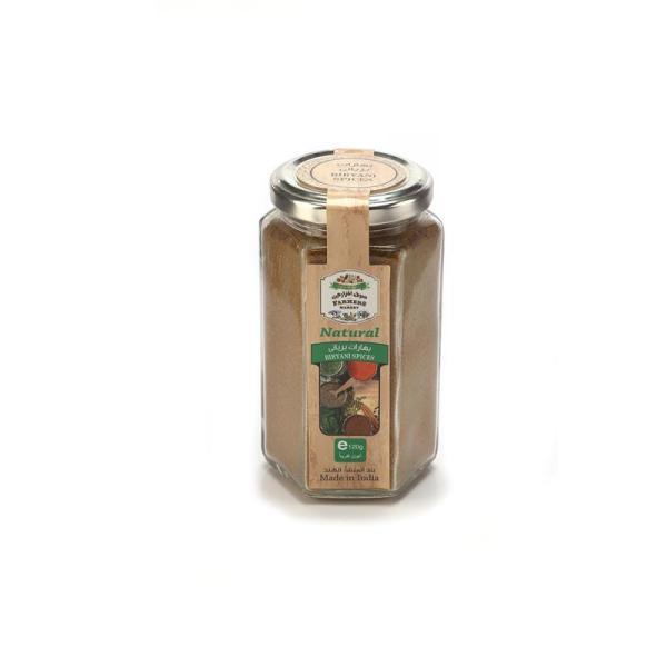 Farmers Market Biryani Spices Glass Jar 120 g