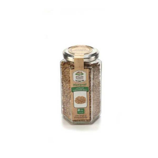 Farmers Market Coriander Seeds Glass Jar 90 g