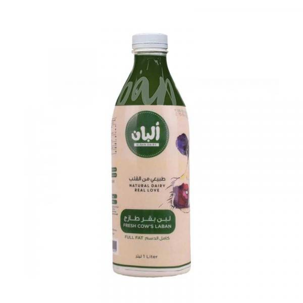 Cow Laban Full Fat 1L - Alban