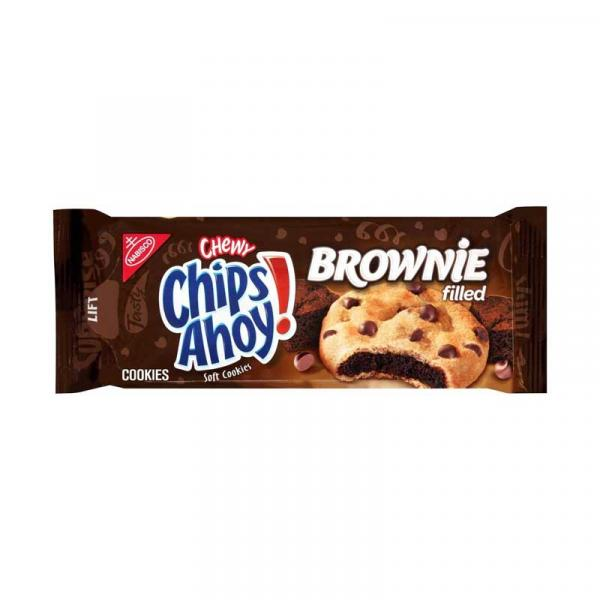 Nabisco Chips Ahoy Filled Brownie Pack 9.5 OZ