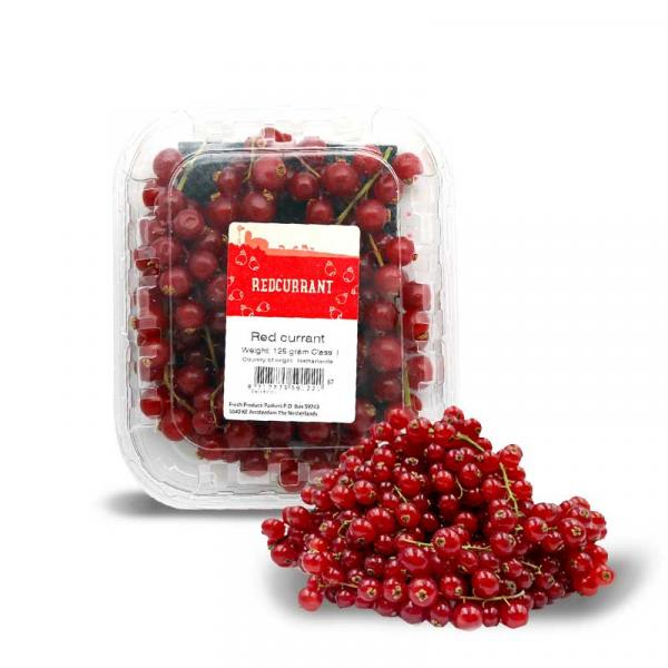 Red Currants Holland Pack 125 g