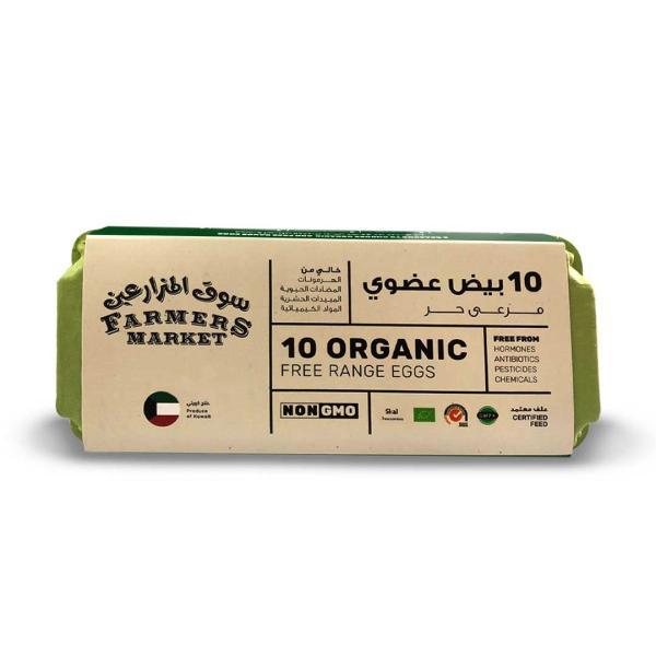 Farmers Market Free Organic Eggs ( 10 pcs)