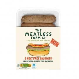 Meatless Farm Meat Free Sausages 6PCs Packet 300g