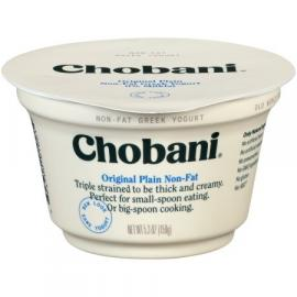 Original Plain Greek Yoghurt 5.3 OZ - Chobani