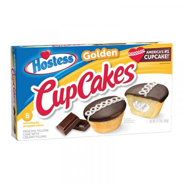 Hostess Cup Cakes MP Golden