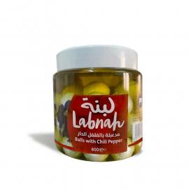 Alban Labnah Balls with Chili Container 600 gm